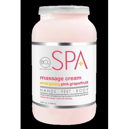 BCL SPA Massage Cream Pink Grapefruit 128oz