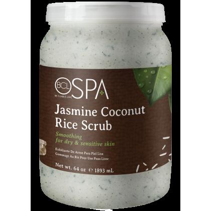 BCL SPA Rice Scrub Jasmine Coconut 64oz