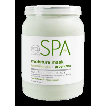 BCL SPA Moisture Mask Lemongrass + Green Tea 64oz