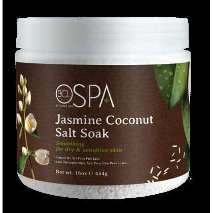 BCL SPA Dead Sea Salt Soak Jasmine Coconut 16oz