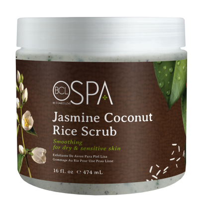 BCL SPA Rice Scrub Jasmine Coconut 16oz